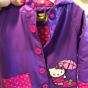Jackets & Blazers - Little girls rain jack